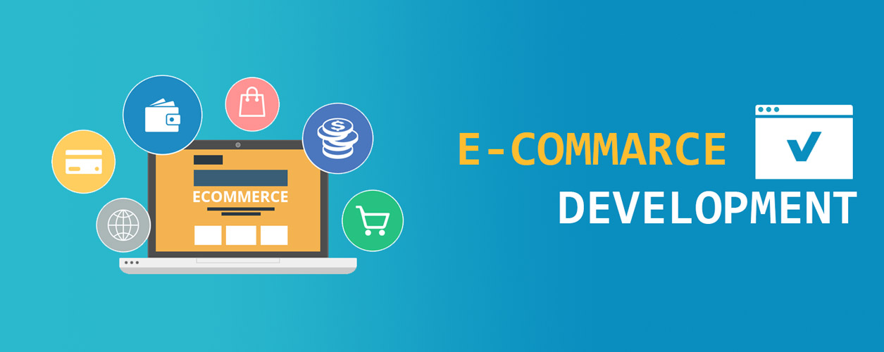 Ecommerce development company markets that use the Internet for their activities